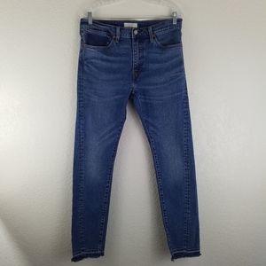 Levi's 510 Mens Altered Dark Wash Skinny Jean B2